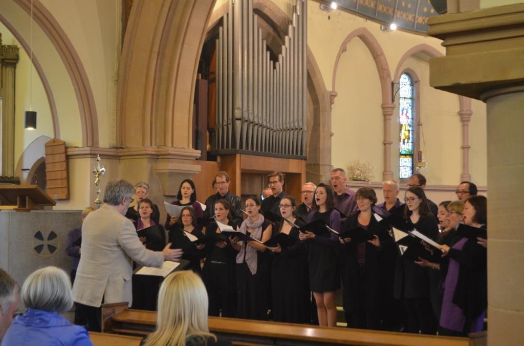 Sir James Macmillan conducts the Elysian Singers